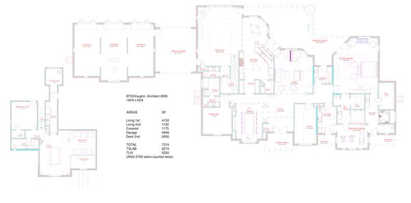 European Floor Plan - Main Floor Plan Plan #408-104