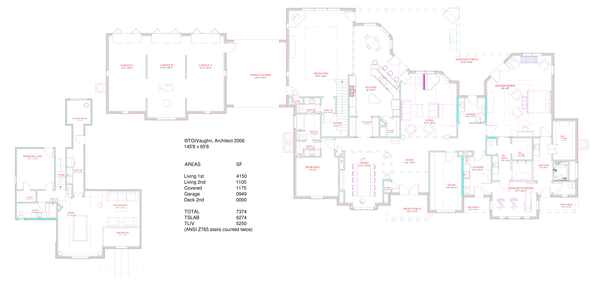 European Floor Plan - Main Floor Plan #408-104