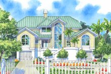Home Plan - Traditional Exterior - Front Elevation Plan #930-130