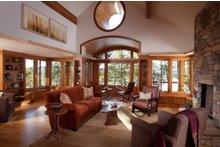 Craftsman Interior - Family Room Plan #454-14