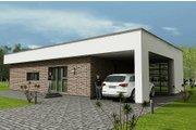 Modern Style House Plan - 3 Beds 1 Baths 1162 Sq/Ft Plan #538-12