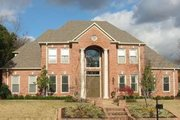 Colonial Style House Plan - 5 Beds 4 Baths 4475 Sq/Ft Plan #81-1640 Exterior - Front Elevation