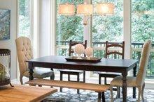 Dream House Plan - Craftsman Interior - Dining Room Plan #48-615