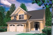 Traditional Style House Plan - 3 Beds 2.5 Baths 1500 Sq/Ft Plan #48-113 Exterior - Front Elevation