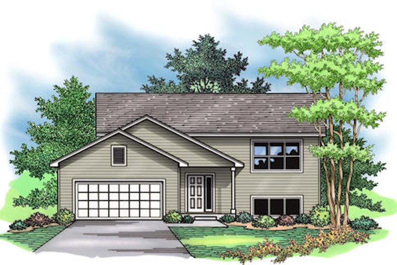 Traditional Exterior - Other Elevation Plan #51-377 - Houseplans.com