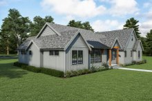 Dream House Plan - Farmhouse Exterior - Other Elevation Plan #1070-117