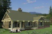 Craftsman Style House Plan - 3 Beds 2.5 Baths 1999 Sq/Ft Plan #51-550
