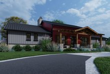 Dream House Plan - Farmhouse Exterior - Front Elevation Plan #120-274