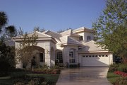Mediterranean Style House Plan - 4 Beds 3 Baths 2887 Sq/Ft Plan #417-345 Photo