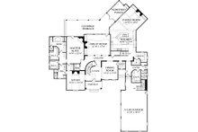 European Floor Plan - Main Floor Plan Plan #453-44