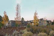 Modern Style House Plan - 3 Beds 3.5 Baths 3312 Sq/Ft Plan #892-14