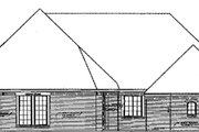 European Style House Plan - 3 Beds 3 Baths 2256 Sq/Ft Plan #310-485 Exterior - Other Elevation