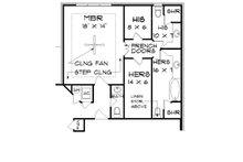 Tudor Floor Plan - Other Floor Plan Plan #45-373