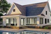 Farmhouse Style House Plan - 3 Beds 2.5 Baths 2657 Sq/Ft Plan #51-1167 Exterior - Rear Elevation