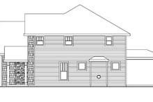 Home Plan - Traditional Exterior - Other Elevation Plan #124-743