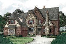 Dream House Plan - European Exterior - Other Elevation Plan #453-18