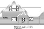 Modern Style House Plan - 2 Beds 2 Baths 2075 Sq/Ft Plan #117-135 Exterior - Other Elevation