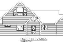 Modern Exterior - Other Elevation Plan #117-135