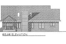 Traditional Exterior - Rear Elevation Plan #70-195