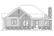 Cottage Style House Plan - 2 Beds 1 Baths 1197 Sq/Ft Plan #22-573 Exterior - Front Elevation