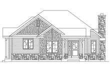 Dream House Plan - Cottage Exterior - Front Elevation Plan #22-573