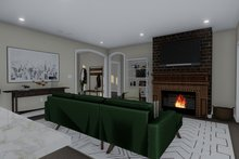 Architectural House Design - Traditional Interior - Family Room Plan #1060-59