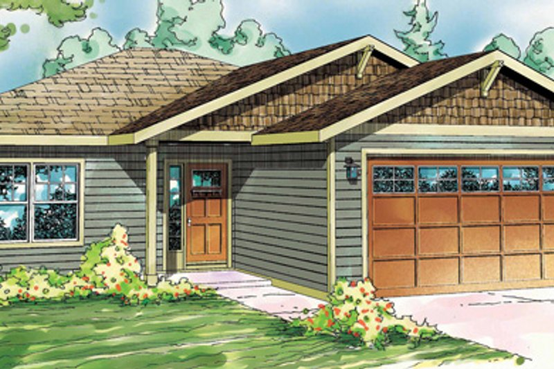 Traditional Exterior - Front Elevation Plan #124-827