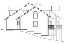 Dream House Plan - Traditional Exterior - Other Elevation Plan #124-809