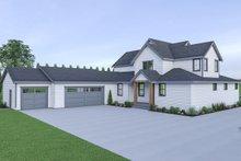 Farmhouse Exterior - Rear Elevation Plan #1070-41