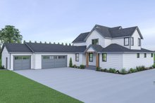 House Design - Farmhouse Exterior - Rear Elevation Plan #1070-41