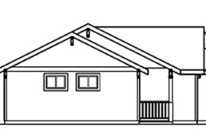 Traditional Exterior - Other Elevation Plan #124-359 - Houseplans.com
