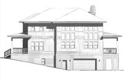 Craftsman Style House Plan - 3 Beds 2.5 Baths 2797 Sq/Ft Plan #926-3 Exterior - Other Elevation