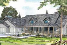 House Design - Ranch Exterior - Front Elevation Plan #124-413