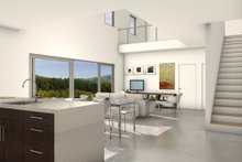Architectural House Design - Modern Family Room