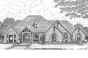House Design - European Exterior - Front Elevation Plan #310-630