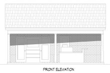 Architectural House Design - Country Exterior - Front Elevation Plan #932-185