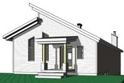 Cottage Style House Plan - 3 Beds 2 Baths 2085 Sq/Ft Plan #23-2713 Exterior - Front Elevation