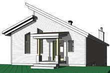 Cottage Exterior - Front Elevation Plan #23-2713