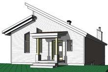 Architectural House Design - Cottage Exterior - Front Elevation Plan #23-2713