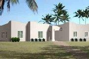 Adobe / Southwestern Style House Plan - 4 Beds 2 Baths 2079 Sq/Ft Plan #1-1423