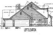 Traditional Style House Plan - 4 Beds 3.5 Baths 3270 Sq/Ft Plan #310-626 Exterior - Other Elevation
