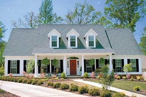 Colonial House Plans Houseplans Com