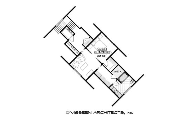 Country Floor Plan - Other Floor Plan Plan #928-12