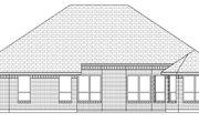 Traditional Style House Plan - 3 Beds 2 Baths 2140 Sq/Ft Plan #84-627 Exterior - Rear Elevation