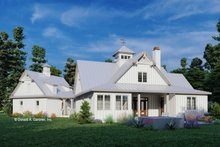 Architectural House Design - Farmhouse Exterior - Rear Elevation Plan #929-1116