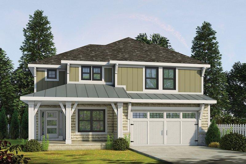 Home Plan - Craftsman Exterior - Front Elevation Plan #20-2345