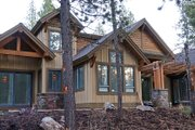 Craftsman Style House Plan - 4 Beds 4 Baths 3691 Sq/Ft Plan #892-4 Exterior - Rear Elevation