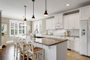 Craftsman Style House Plan - 3 Beds 2 Baths 1451 Sq/Ft Plan #461-54 Interior - Kitchen