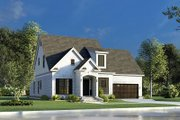 Traditional Style House Plan - 3 Beds 2.5 Baths 1684 Sq/Ft Plan #923-191 Exterior - Other Elevation