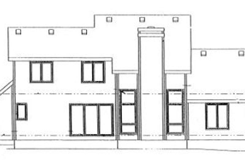 Traditional Exterior - Rear Elevation Plan #20-269 - Houseplans.com